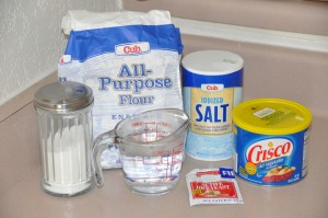 Basic White Bread Ingredients