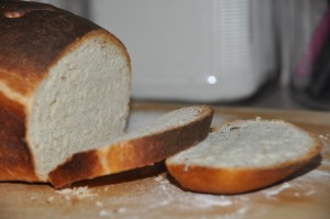 Basic White Bread Sliced