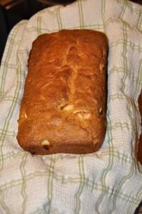 Raw Apple Bread