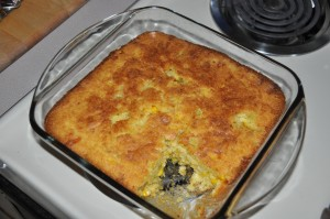 Helen Evans Brown's Corn Chili Bread