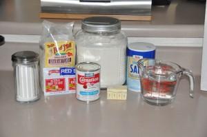Graham Bread Ingredients