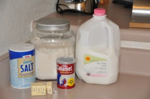 Baking Powder Biscuits Ingredients