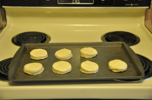 Baking Powder Bisuits Before Baking