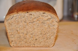 Whole-Wheat Bread Made with Hard-Wheat Flour