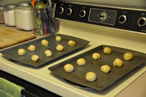 Alvin Kerr's Zephyr Buns Before Baking