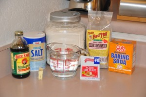 Yeast Buckwheat Cakes Ingredients