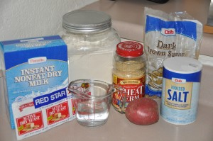 Carl Gohs' Bread Ingredients