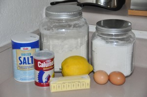 Lemon Bread Ingredients