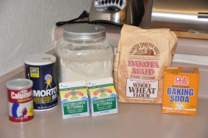 Irish Whole-Wheat Soda Bread Ingredients