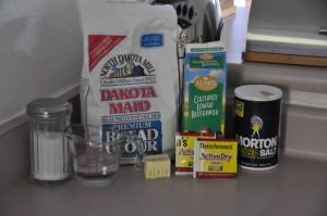 Buttermilk White Bread Ingredients