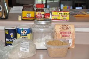Black Bread Ingredients