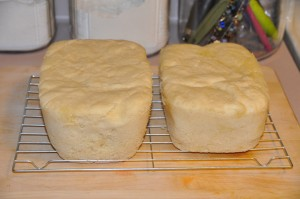 English Muffin Bread for Microwave Oven