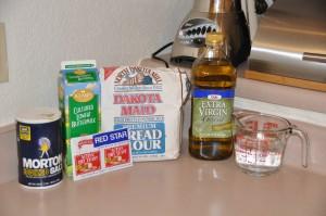 White Free-Form Loaf Ingredients