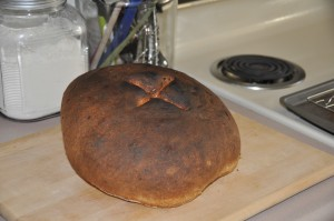 George Lang's Potato Bread with Caraway Seeds
