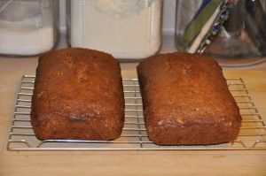 Carl Goh's Zucchini Bread