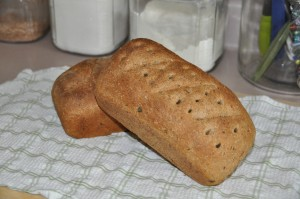 Dark Herb Bread