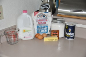 Sally Lunn Ingredients