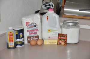 Golden Cake Batter Bread Ingredients
