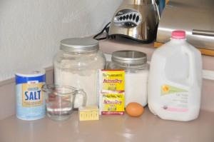 Parker House Rolls Ingredients