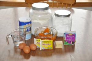 Sweet Potato Rolls Ingredients