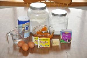 Sweet Potato Rolls Ingredients