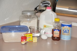 Rye Bread Ingredients