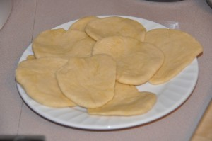 Bunuelos Before Frying
