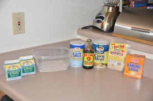 Boston Brown Bread Ingredients