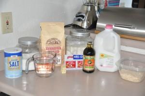 William Melville Childs' Health Bread Ingredients