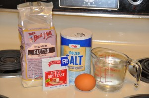 Gluten Bread Ingredients