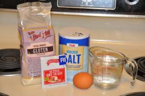 Gluten Bread Ingredients