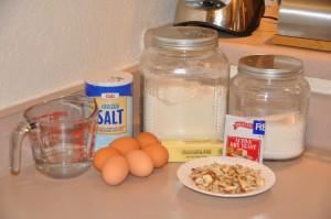 Kugelhopf Ingredients